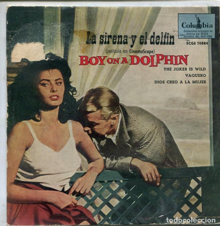 LA SIRENA Y EL DELFIN (LIONEL NEWMAN) / THE JOKER IS WILD / DIOS CREO A LA MUJER (EP 1959) (Música - Discos de Vinilo - EPs - Bandas Sonoras y Actores)