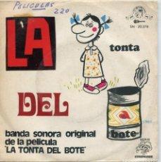 Discos de vinilo: LA TONTA DEL BOTE (LINA MORGAN) LA TONTA DEL BOTE + VERSION INSTRUMENTAL (SINGLE 1970). Lote 147576898