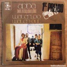 Discos de vinilo: ABBA WATERLOO EDIC ESPAÑA EUROVISION 1974. Lote 147580054