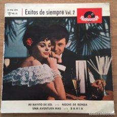 Discos de vinilo: EXITOS DE SIEMPRE VOL 2 POLYDOR ESPAÑA AÑO 1963. Lote 147581318