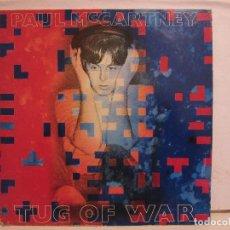 Discos de vinilo: PAUL MCCARTNEY - TUG OF WAR - FUNDA INTERIOR - 1982 - ODEON - SPAIN - VG+/VG. Lote 147582014