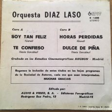 Discos de vinilo: ORQUESTA DIAZ LASO EP AUDIO & VIDEO AÑO 1975. Lote 147582150