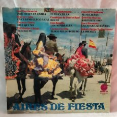Discos de vinilo: CARMEN FLORES, CARMEN SEVILLA, FLORES EL GADITANO Y MAS - AIRES DE FIESTA - IMPACTO EL-079 - 1974. Lote 147582558