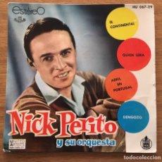 Discos de vinilo: NICK PERITO EL CONTINENTAL EP EDIC ESPAÑA 1961. Lote 147585086