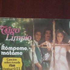 Discos de vinilo: TRIGO LIMPIO. Lote 147588354