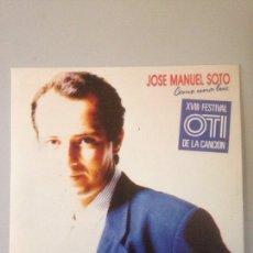 Discos de vinilo: JOSE MANUEL SOTO-COMO UNA LUZ. Lote 147590801