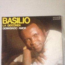 Discos de vinilo: BASILIO LA GIOCONDA AÑO 1978. Lote 147590932