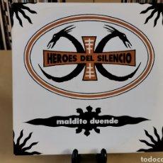 Discos de vinilo: HEROES DEL SILENCIO -SG- MALDITO DUENDE. Lote 147591277