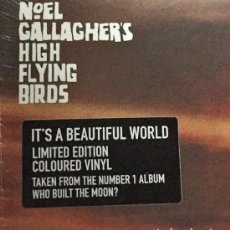 Discos de vinilo: EP 12'' NOEL GALLAGHER'S HIGH FLYING BIRDS - IT'S A BEAUTIFUL WORLD (REMIXES). Lote 147598718