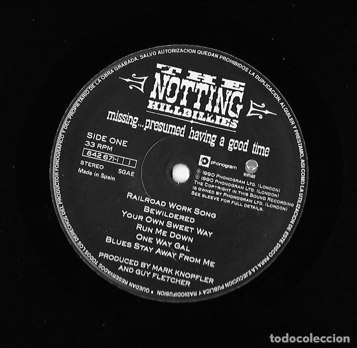 Vinyl-Schallplatten: NOTTING HILLBILLIES, THE (MARK KNOPFLER / DIRE STRAITS): MISSING... - Foto 4 - 147599142