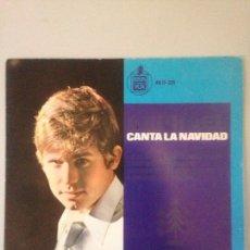 Discos de vinilo: RAPHAEL CANTA A LA NAVIDAD. Lote 147599592
