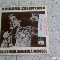 Discos de vinilo: DISCO DE ADRIANO CELENTANO AÑO 1972. Lote 147602578
