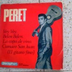 Discos de vinilo: DISCO DE PERET AÑO 1965 INCLUYE 4 TEMAS. Lote 147602818