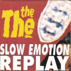 Discos de vinilo: THE THE,SLOW EMOTION REPLAY EDICION ESPAÑOLA DEL 93 PROMO DE 1 SOLA CARA. Lote 147605498