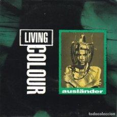 Discos de vinilo: LIVING COLOUR,AUSLANDER DEL 93 PROMO DE 1 SOLA CARA. Lote 147605806