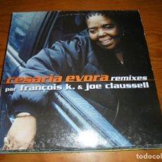 Discos de vinilo: CESARIA EVORA REMIXES PAR FRANÇOIS K. & JOE CLAUSSELL. 1999 . MAXI-SINGLE. (#). Lote 147609874