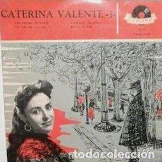 Discos de vinilo: CATERINA VALENTE- LES FILLES DE PARIS + 3 TEMAS - EP FRANCE 50,S. Lote 147611006