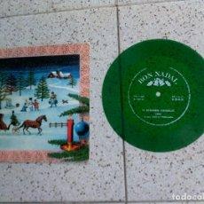 Discos de vinilo: DISCOFLEX EL DESEMBRE CONGELAT CANCION NAVIDEÑA DE COLOR 1969. Lote 147612298