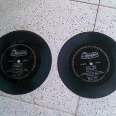Discos de vinilo: LOTE DE DISCOS DEL GRUPO CRAAFT TEMAS,I WANNA LOOK IN YOUR EYES. Lote 147612834
