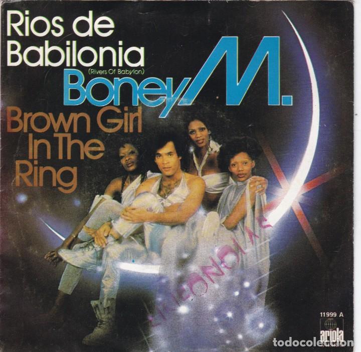 BONEY M,RIOS DE BABILONIA DEL 78 (Música - Discos - Singles Vinilo - Disco y Dance)