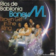 Discos de vinilo: BONEY M,RIOS DE BABILONIA DEL 78. Lote 147613054
