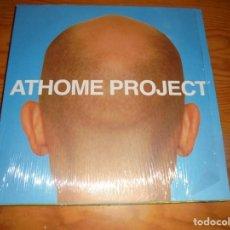Discos de vinilo: ATHOME PROJECT. 2 LP´S MAXI-SINGLE. BEATSERVICE, 2002. IMPECABLE (#). Lote 147613510