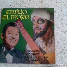 Discos de vinilo: DISCO DE EMILIO EL MORO AÑO 1961. Lote 147613554