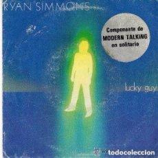 Discos de vinilo: RYAN SIMMONS (MODERN TALKING) - LUCKY GUY - SINGLE SPAIN 1985. Lote 147614650