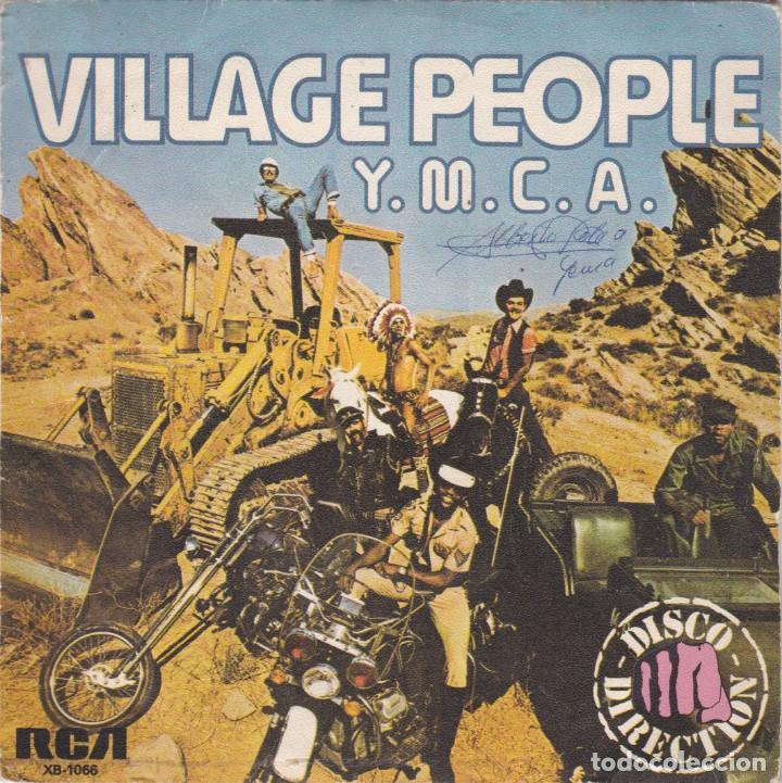 VILLAGE PEOPLE,YMCA DEL 78 (Música - Discos - Singles Vinilo - Disco y Dance)