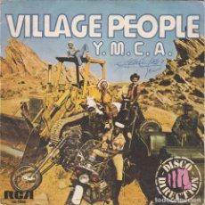 Discos de vinilo: VILLAGE PEOPLE,YMCA DEL 78. Lote 147616226