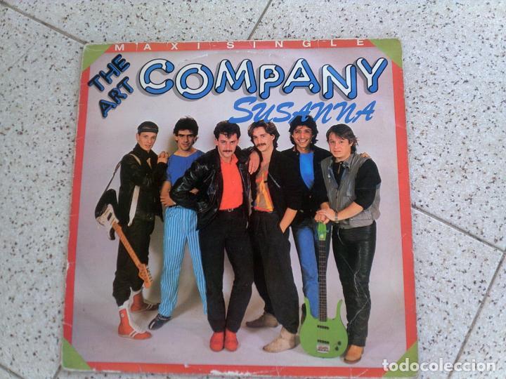MAXI SINGLE DE THE ART COMPANY ,TEMA SUSANNA AÑO 1984 (Música - Discos de Vinilo - Maxi Singles - Pop - Rock - New Wave Extranjero de los 80)