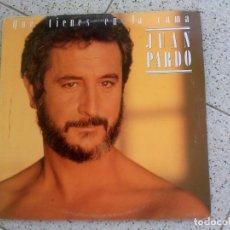 Discos de vinilo: DISCO DE JUAN PARDO ,QUE TIENES EN LA CAMA AÑO ,1986. Lote 147617030