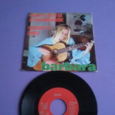 Discos de vinilo: RARO SINGLE.YE YE.GIRL.BARBARA NUNCA VOLVERE A ENAMORARME/NOBODY'S CHILD.SPAIN 1970 PUSSY.N.101 003 . Lote 147617290