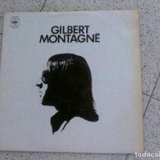 Discos de vinilo: LP GILBERT MONTAGNE AÑO 1971. Lote 147617734