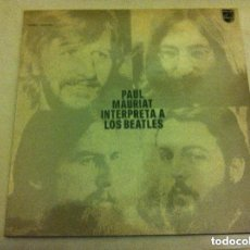 Discos de vinilo: PAUL MAURIAT - INTERPRETA A LOS BEATLES - 1975- LP. Lote 147617918
