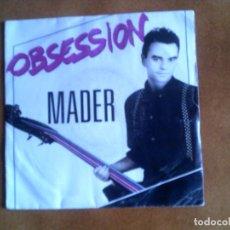 Discos de vinilo: DISCO DE MADER OBSESSION AÑO 1987. Lote 147618706