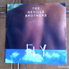 Discos de vinilo: DISCO DE THE NAVILLE BROTHERS ,TEMAS ,LIKE AN EAGLE. Lote 147619606