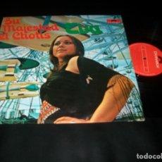 Discos de vinilo: EVA - SU MAJESTAD EL CHOTIS - LP DE 1974 - POLYDOR - REVIVE LOS GRANDES CHOTIS DE MADRID. Lote 147620186
