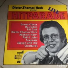 Discos de vinilo: DIETER THOMAS HER PRASENTIENT HIT PARADE LIVE . Lote 147621686