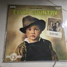 Discos de vinilo: ELVIS PRESLEY-ELVIS COUNTRY - I'M 10.000 YEARS OLD . Lote 147626698