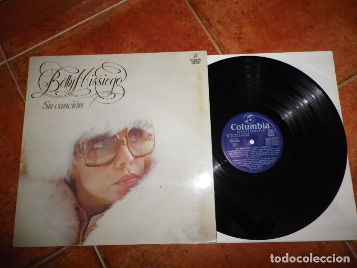 BETTY MISSIEGO SU CANCION EUROVISION 1979 ESPAÑA LP VINILO DEL AÑO 1979 GATEFOLD CONTIENE 10 TEMAS (Música - Discos - LP Vinilo - Festival de Eurovisión)