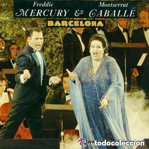 FREDDIE MERCURY Y MONTSERRAT CABALLÉ - BARCELONA - MAXI-SINGLE SPAIN 1987 (Música - Discos de Vinilo - Maxi Singles - Pop - Rock - New Wave Extranjero de los 80)