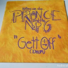 Discos de vinilo: PRINCE AND THE NEW POWER GENERATION, SG, HORNY PONY + 1, AÑO 1991 MADE IN U.K.. Lote 147630158