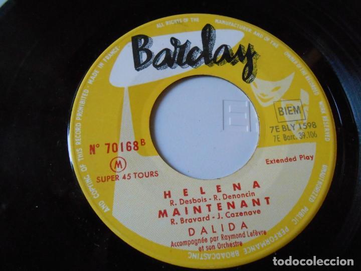 Discos de vinilo: DALIDA, EP, AIE ! MON COEUR + 3, AÑO 19?? MADE IN FRANCE - Foto 3 - 147633158