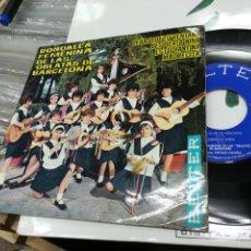 Discos de vinilo: RONDALLA FEMENINA DE LAS OBLATAS DE BARCELONA EP DEBAJO DE TU VENTANA + 3 1964. Lote 147635668
