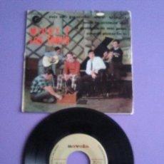 Discos de vinilo: RARO EP.MICKY Y LOS TONYS.NO SE PUEDE SER VAGO+3.CANCIONES DE LA PELI CODO CON CODO.NOVOLA. NV 125. Lote 147636046
