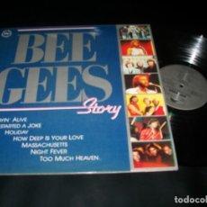 Discos de vinilo: BEE GEES - STORY - VERSION ORIGINAL - LP DE RSO - POLYDOR DE 1991 - ESPAÑA - MUY BUEN ESTADO. Lote 147636202