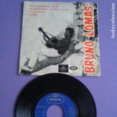 Discos de vinilo: RARO EP BRUNO LOMAS.AYER CUMPLISTE LOS 16/MI PUEBLECITO/CORRE,CORRE/BAMBI-AÑO 1966 REGAL SEDL 19.502. Lote 147637840