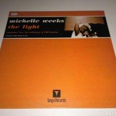Discos de vinilo: MICHELLE WEEKS - THE LIGHT. Lote 147638153