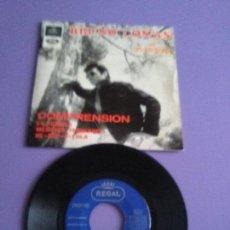 Discos de vinilo: JOYA EP 1965. BRUNO LOMAS CON LOS ROCKEROS / COMPRENSION / ES POSIBLE + 2 . SPAIN REGAL SEDL 19.445. Lote 147639230